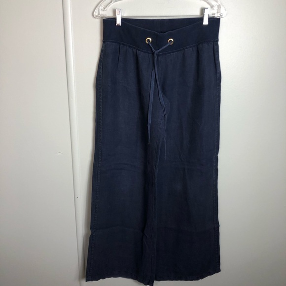 Lilly Pulitzer Navy Blue Beach Pant Size Small